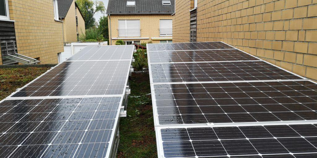Photovoltaik auf Garagendach