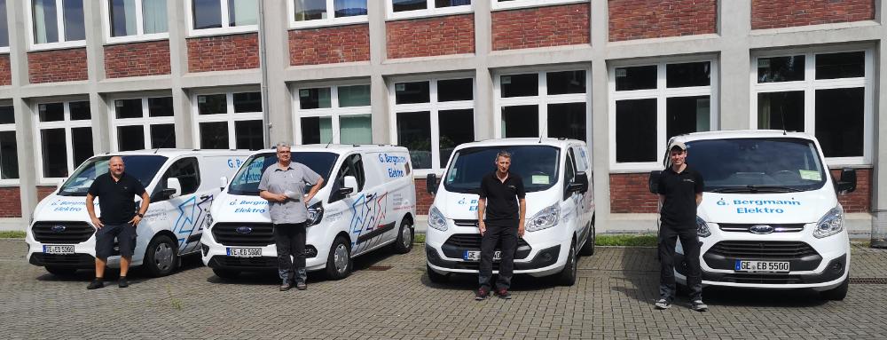 Team Netzwerktechniker Elektro Bergmann